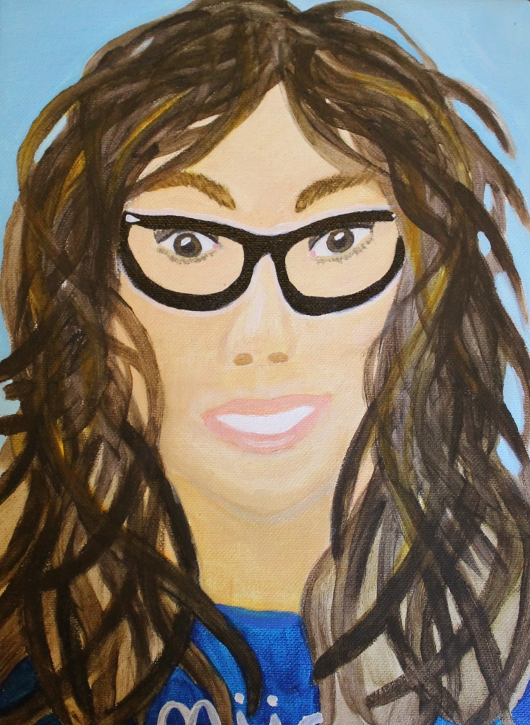 Self Portrait, Age 12